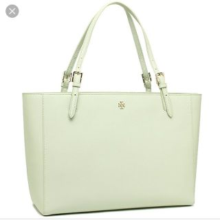 NWT Tory Burch York buckle tote limited edition color-mint julep