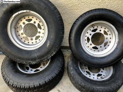 Original Jackman aluminum wheels