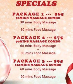 Fort Lauderdale Massage Specials