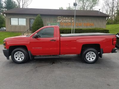 2014 Chevrolet Silverado 1500 Work Truck (Victory Red)