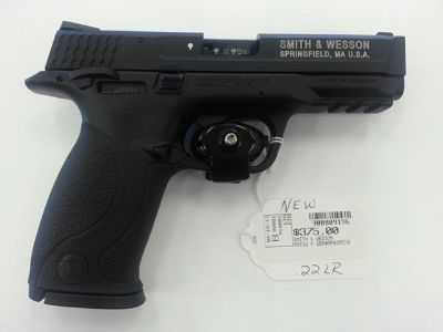 $375, New Smith  Wesson MP-22 .22 LR Pistol