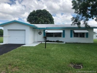 2/2 single family home with one car garage in a 55 plus community.