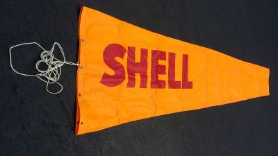 Shell Aviation fuel windsock