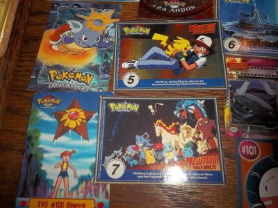 Pokemon Cards / Gold Plates