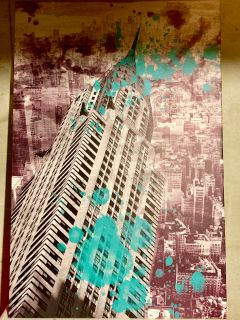 Wrapped Canvas Print of Chrysler Building