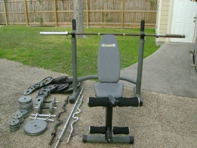 Want to Muscle Up Weight Set