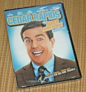 NEW Cedar Rapids DVD The Super Awesome Edition Ed Helms John C Reilly Anne Heche