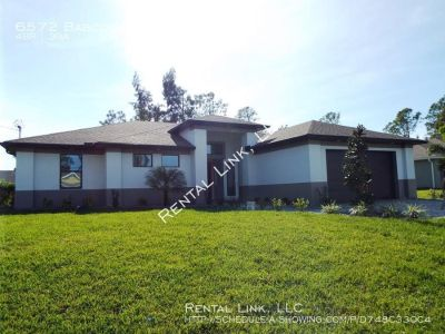 Newly Built Fort Myers Pool Home For Rent