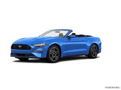 2019 Ford Mustang EcoBoost Premium (Velocity Blue Metallic)