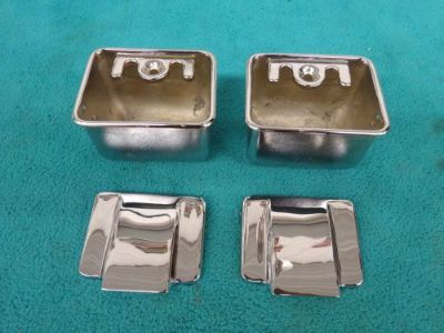 Buy 1968-70 ROAD RUNNER CORONET, B-BODY, CONVERTIBLE REAR ASH TRAYS, SOLID RECHROMED motorcycle in Stillwater, Minnesota, United States, for US $93.95