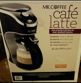 Mr Coffee Cafe Latte Brewing System *NEW*