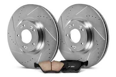 Purchase 01-02 Mercedes E Class PowerStop K627 K627 - 1-Click Rear Brake Kit Brand New motorcycle in Chicago, Illinois, US, for US $190.81