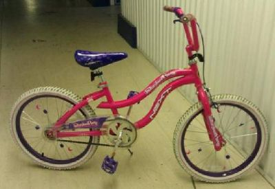 "$15 Used but still useful 20"" Girls Next ""Slumber Party"" bike"