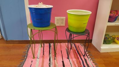 Plant Stand & Containers