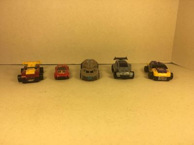 McDonald's Happy Meal Toy LEGO RACERS (2009) & Other Matchbox McDonald s Toys
