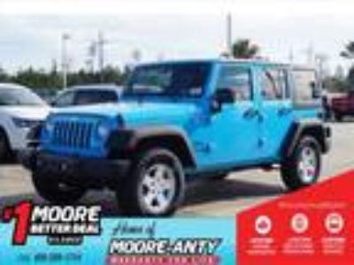 2018 Jeep Wrangler Unlimited Blue, new