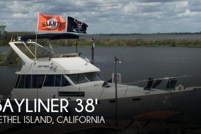 1989 Bayliner 3888 Double Cabin Flybridge