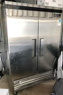 Large Max Cold Stainless Refrigerator 54