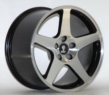Sell AFS 1994-2004 Mustang 03 COBRA MAC BLACK 17 X 8 Wheels Rims 02 01 99 98 97 96 95 motorcycle in Canoga Park, California, US, for US $585.00