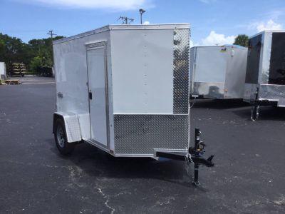 2019 Cargo Express XLW5X8SI2 with Side Door Cargo Trailers Trailers Fort Pierce, FL