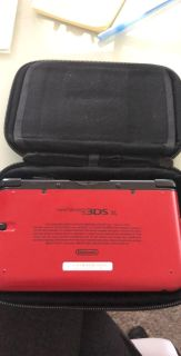Nintendo 3DS with 7 games and case