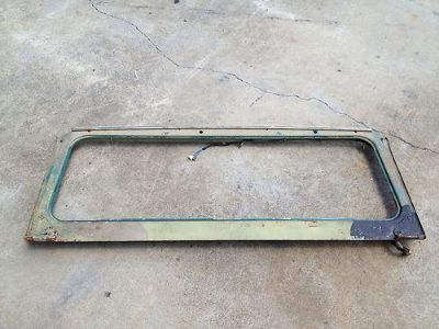 Buy Toyota FJ40 FJ Windshield Frame Used Very Solid motorcycle in Ruckersville, Virginia, US, for US $124.99