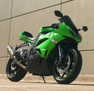 2009 Kawasaki Ninja ZX -6R SuperSport Motorcycles Plano, TX