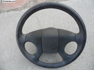 89 Rabbit steering wheel
