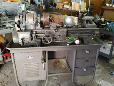 "South Bend ""Heavy 10"" Metal lathe"