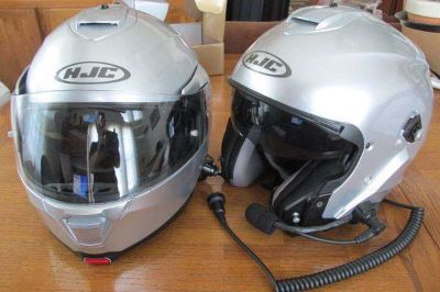 1992 Gorgeous Cambridge Blue Honda Aspencade GL1500 Goldwing plus 2 Helmets with