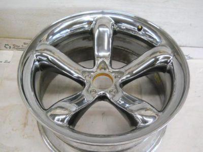 Sell PLYMOUTH PROWLER Wheel 20x10 REAR CHROME NO CAP 2001 2002 motorcycle in Eagle River, Wisconsin, United States, for US $700.00