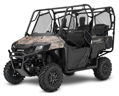 2019 Honda Pioneer 700-4 Deluxe Side x Side Utility Vehicles Panama City, FL