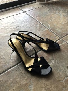 Navy blue shoes. Size 8