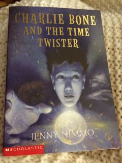 Time is running out for Charlie Bone by Jenny Nimmo