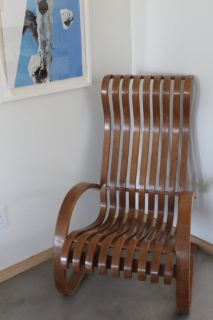 Wooden design chair