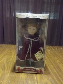 NIB Collector's Porcelain Doll Or best offer