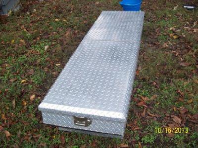 $85 OBO Delta Diamond Plate Truck Tool Box