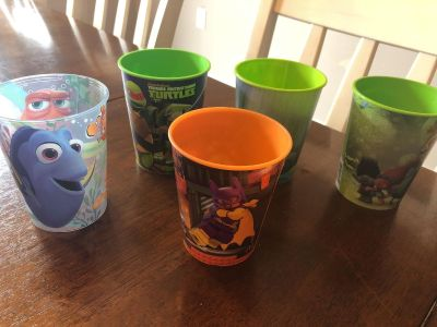 Character cups