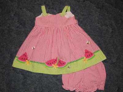 12-18mo dress and diaper cover