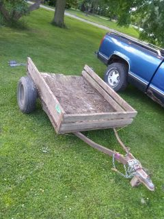 4' x 5' mower/utility/quad trailer