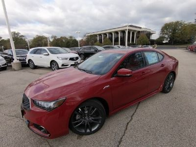 2019 Acura TLX (san marino red)