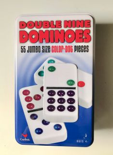 DOMINOS Double Nine Set of 55 $10