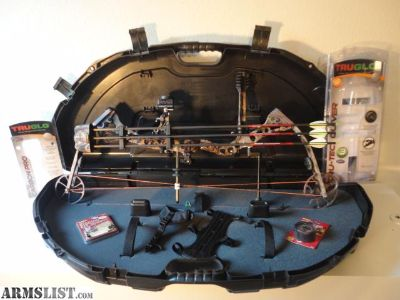 For Sale/Trade: Ross CR334 RH Compound Bow Package With CASE