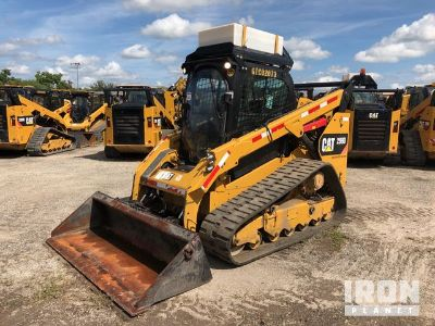 2015 (unverified) Cat 299D Compact Track Loader