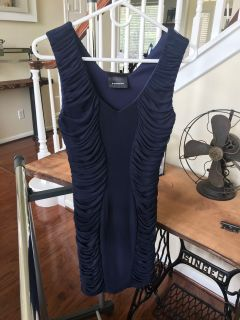 Navy Blue Dress Size 2
