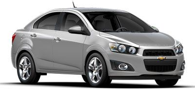 2015 Chevrolet Sonic Sedan LT Automatic (Red Hot)
