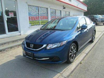 2013 Honda Civic EX (Dyno Blue Pearl)