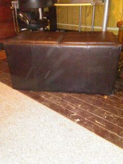 Ottoman with Storage and Trays