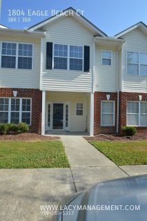 Townhouse Rental - 1804 Eagle Beach Ct