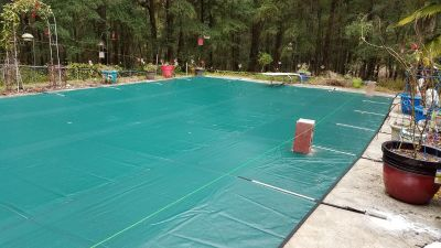 40x20 Pool Cover with Anchors